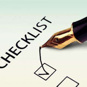 General Checklist